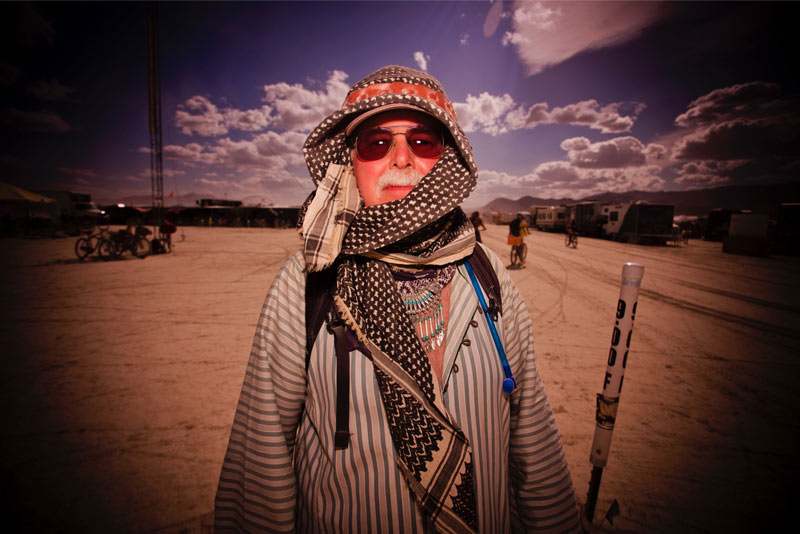 Burning-Man-2015-213;-Guy-Dressed-For-The-Desert