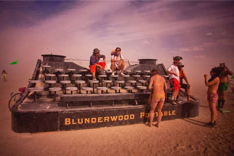 Burning-Man-2015-223;-Blunderwood-Portable-Typewriter
