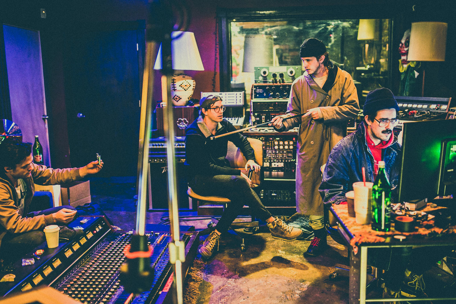 BRONCHO-recording-new-album