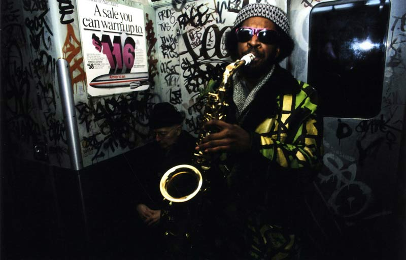 NYC-subway-saxaphone